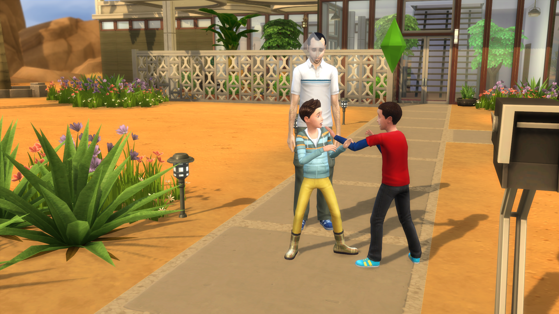 how to change another sims traits sims 4